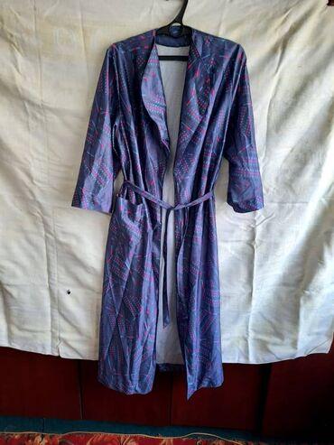 женское платье халат в Кыргызстан: Женский халат (Германия)  Размер-48/50 (новый) Цена-800 сом Тел.