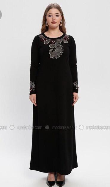 платья вечерние in Кыргызстан | МАТЕРИНСКИЕ ПЛАТЫ: Платье вечернее большого размера, отделанное стразами, красивое и