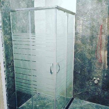 Duş kabin şüşe ara kəsmələr, polkalar və digər hamam avadanlıqları