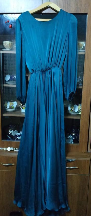 шифоновое платье батал в Кыргызстан: Продаю шифоновое платье. индивидуальный пошив. ткань брали в магазине