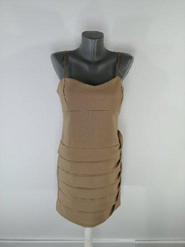 Haljine | Bor: Predivna italijanska haljna. Debljeg materijala sa podesivim bretelam