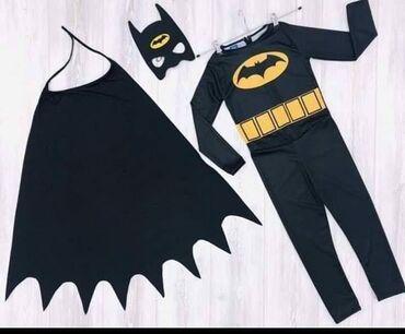 Ostala dečija odeća | Arandjelovac: Kostim Betmen  Velicina 2-3, 7-8 god 1390 DIN