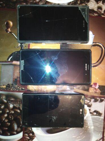 naushniki sony xperia z в Кыргызстан: Продаю Sony experia z 1 и experia z 3. LG e970 в подарок. Телефоны ра