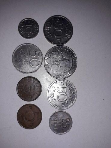 Монеты Швеции в Токмак