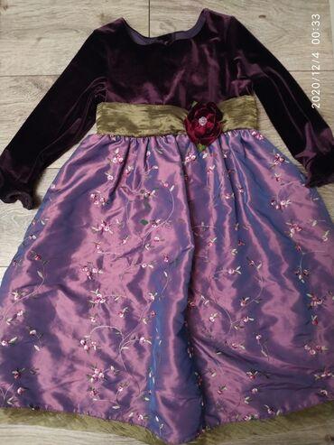 вышивка бишкек in Кыргызстан | ДРУГОЙ ДОМАШНИЙ ДЕКОР: Платье нарядное (США) на девочку от 6 лет и + очень красивое и качеств