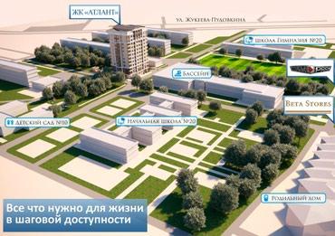 Продается квартира: 2 комнаты, 83 кв. м в Бишкек - фото 3