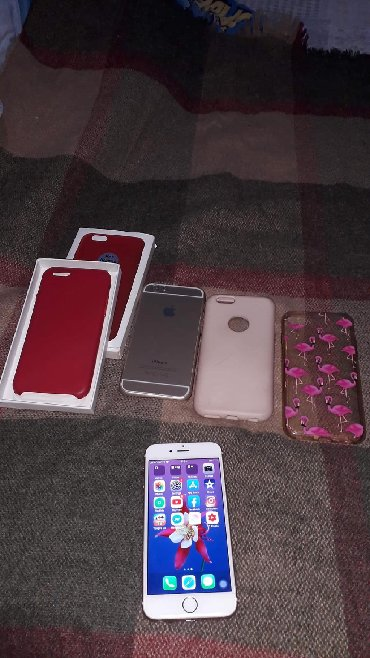 IPhone 6s 16GB In very good condition with Free 4 cases