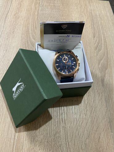 Slazenger sat, kupljen u zlatari Papic, u kutiji sa garancijom do okto