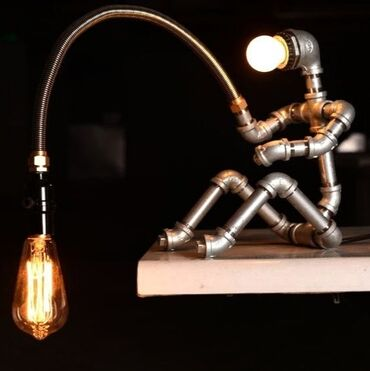 Делаем на заказ вот таких замечательных роботов в стиле артлофт