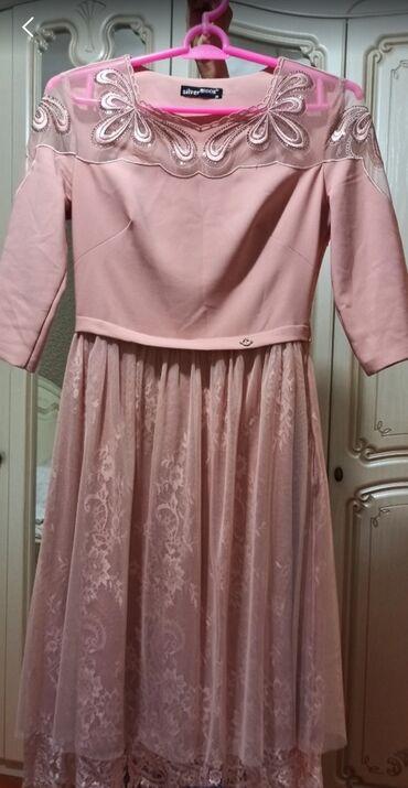 вечернее платье из франции в Кыргызстан: Продаю очень нежное платье,почти новое.Одевала 1 раз на 2 часа
