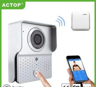 Samo jedan put - Srbija: Wifi interfon sa ugradjenom kamerom  Interfon koji vam omogucava da gl