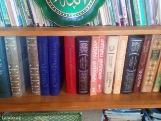 Bakı şəhərində Rus edebiyyati kitablari.