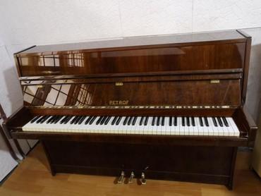 Pianino - Almaniya istehsalı professional Akustik və Elektron