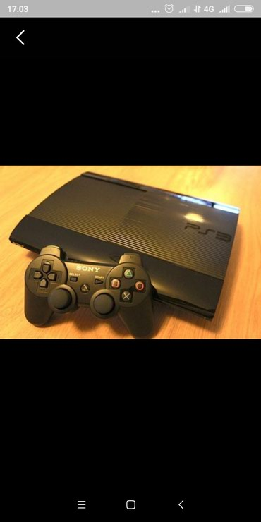 PlayStation3 супер Слим 500 Гб в Ош