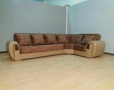 Bakı şəhərində Kunc divan,olcu 330x2,, acilib yigilan bazali,catdirilma ile birlikde