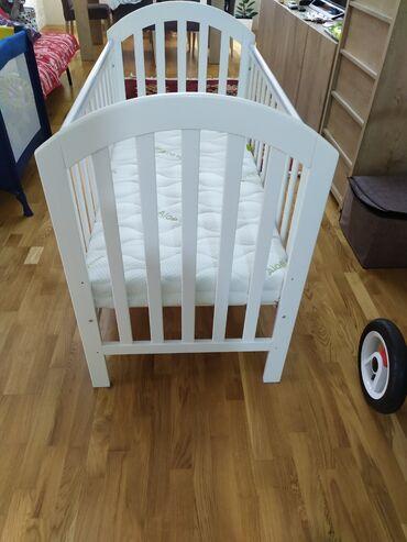 Детская кроватка куплена в Mathecare 3 месяца назад за 470 + матрас