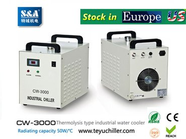 S&A water-cooled chiller CW-3000 AC220V, 50Hz for co2 laser or CNC in Kathmandu
