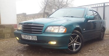 brilliance m2 1 8 at - Azərbaycan: Mercedes-Benz C 180 1.8 l. 1998 | 338654 km