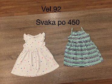 Duks-haljina - Indija: H&M Haljina za devojcice vel 92 (2-3god)