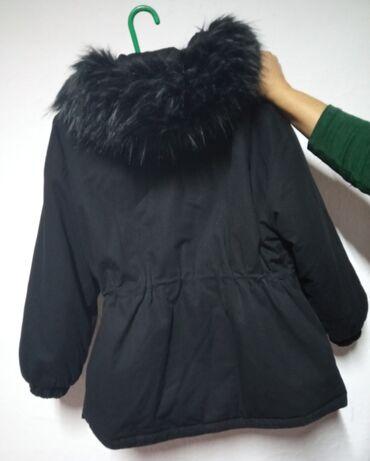 Зимняя теплая куртка. Размер 44-46размер(оверсайз), в отличном