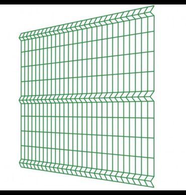 Сетка Гиттер ( евро забор) Материал Россия   Размеры:  0,7м высота *2
