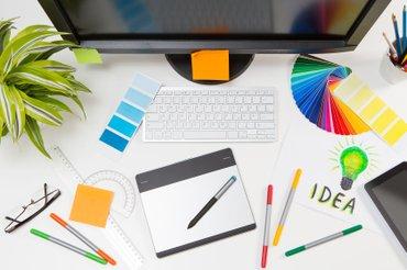 Рекламному Агентству требуется дизайнер с опытом работы, умеющий в Бишкек