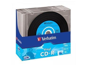 Verbatim cd-r azo data vinyl 700mb 48x (10 komada) - Boljevac