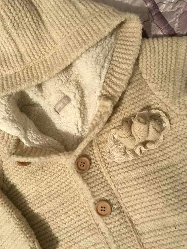 вязаные платья на лето в Кыргызстан: ✔Фото: 1,2 ( Теплый комбинезон вязаный) размер: 8 мес. - 1год