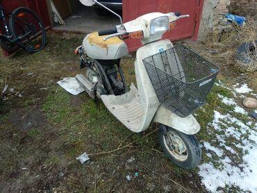Suzuki 50cc. Без пробега по КР. Пластик весь целый. Все в наличии. На