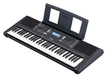 Синтезатор. Yamaha PSR-E373 является новым портативным синтезатором от