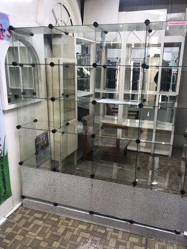 витрины для сотовых аксессуаров в Кыргызстан: Продаю витрину. Подойдёт для аптеки, сотовых аксессуаров и других небо