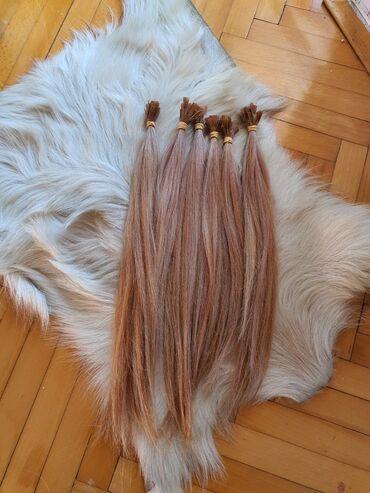 Kosa prirodna - Srbija: 120 pramenova Prirodna kosa na keratinu Gusta prelepa može se farbati