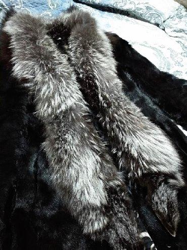 Шубы в Кыргызстан: Натуральная шуба из чернобуркиСостояние 8/10Реальным клиентам