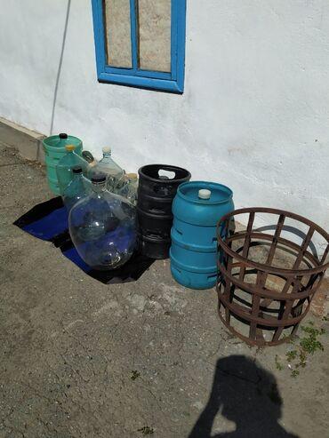 34 объявлений: Бутылки 20 литровые,50 литровые, 10 литровые, цена 650 сомов, 1200