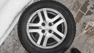 Продаю Диски для Хонда фит Джаз R15 с резиной зима 20000сом