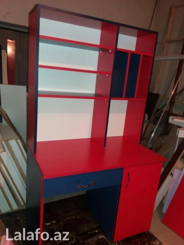 Bakı şəhərində Calisma masasi   eni: 1 mt   hun: 1,70 mt  her reng ve olcude