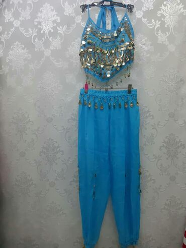 детские восточные костюмы в Кыргызстан: Костюм для восточных танцев, детский на 10-11лет,б/у в хорошем