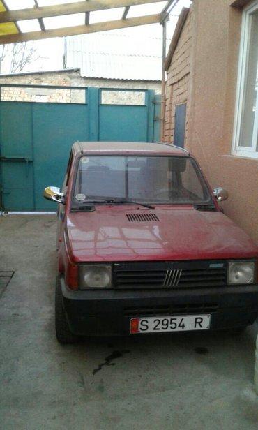фиат панда 1992 года объем 0. 8. расход 3_4  литра. состояние хорошее  в Бишкек