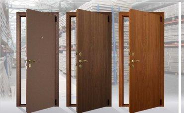 Стальные двери от российской компании в Бишкек