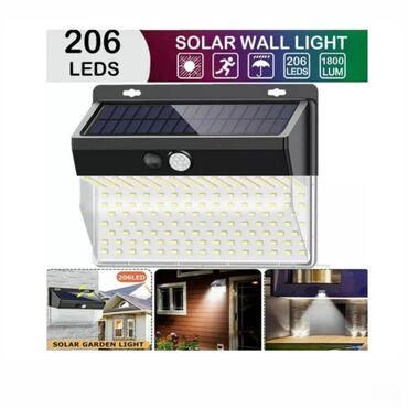 Lampe - Srbija: Zidna solarna lampa, punjiva, senzor, XF 2026Model: zidna lampa