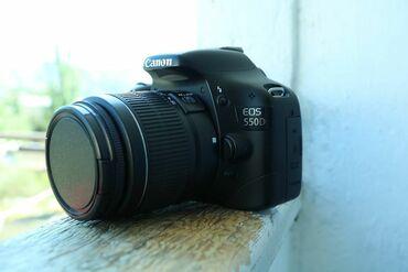 Fotoaparatlar - Saray: CANON 550D Cox az istifade olunub şekilde gorduyunuz kimidir Sunkasi