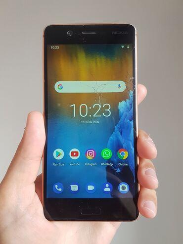 Nokia 5 diqqetle özü elani sadece qediyyati olunmalıdır,bide üst