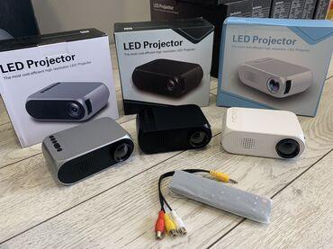 проектор-домашний-кинотеатр в Кыргызстан: Карманный проектор 📽 YG320  Самый удобный и бюджетный проектор для дет