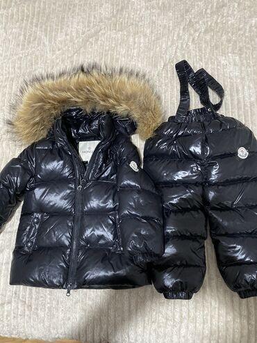 Jakna sa prirodnim krznom - Srbija: Decija moncler jakna sa donjim delom. Prirodno krzno, za uzrast 2,3 go