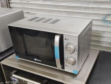 ağ uşaq futbolkaları - Azərbaycan: Soba Mikrodalgali soba Silverturk istehsali700 watt 20 litrelik