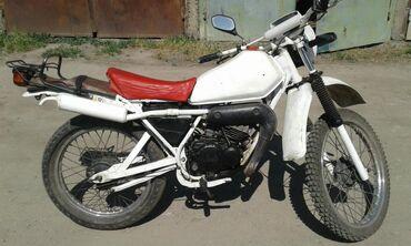 Yamaha в Кыргызстан: Мотоцикл Yamaha Dt 80 нужно делать кикстартер свет поворотки
