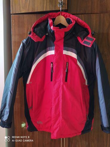 Куртка спортивная зимняя на подростка.размер 46-48 рост 165-170 почти