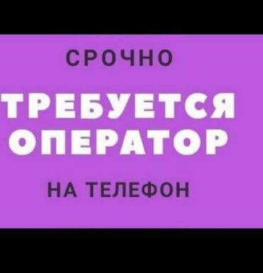 Со знанием кыргызского языка требуется оператор-консультант на