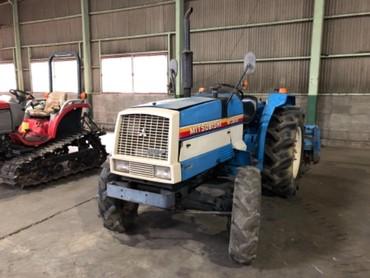 Продается надежный японский мини трактор Mitsubishi MT2801D. Оснащен