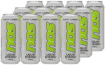 NOS Energy Drink Supercharged σε Neapoli
